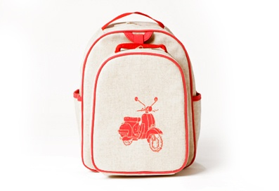 Vespa toddler backpack from soyoungmother. Very cool company.