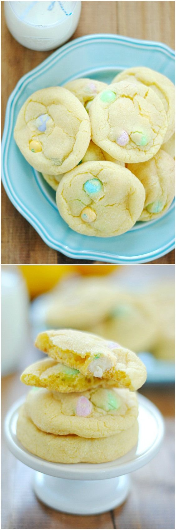 lemon white chocolate m amp m cookies www somethingswanky com
