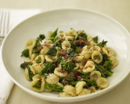 Orecchiette with Broccoli Rabe Recipe   Pasta Recipes