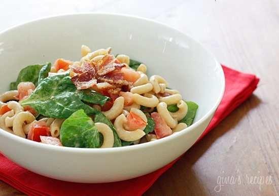 Blt macaroni salad | Favorite Recipes | Pinterest