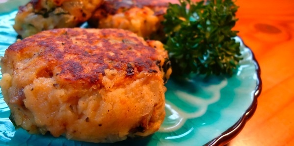 Potato And Kale Cakes With Rouille Recipe — Dishmaps