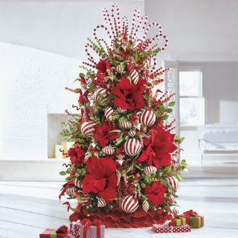 grandin road peppermint tree christmas trees pinterest. Black Bedroom Furniture Sets. Home Design Ideas