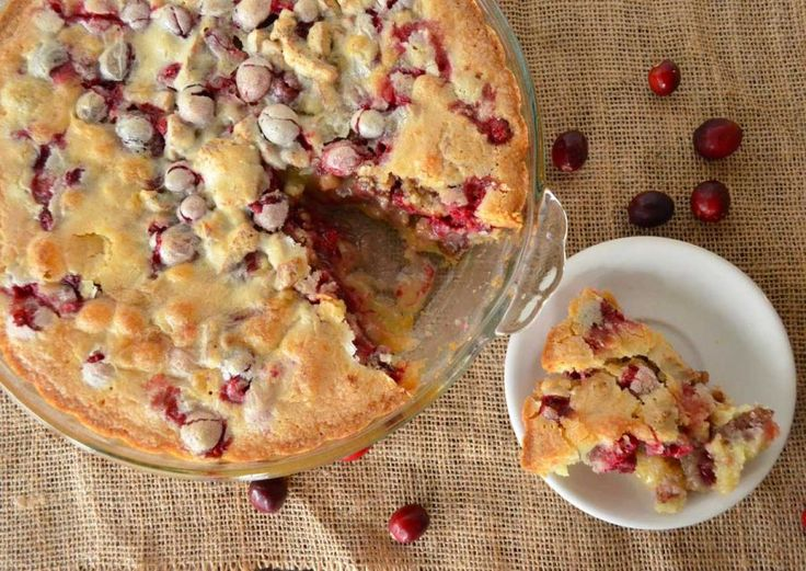Carrie's Cranberry Cobbler | Recipe