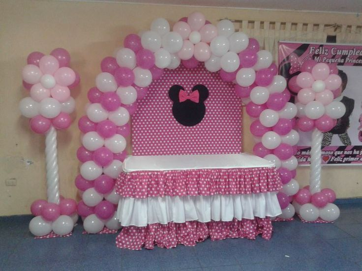 Minnie Mouse Polka dots Birthday Party Ideas Minnie mouse, Mice