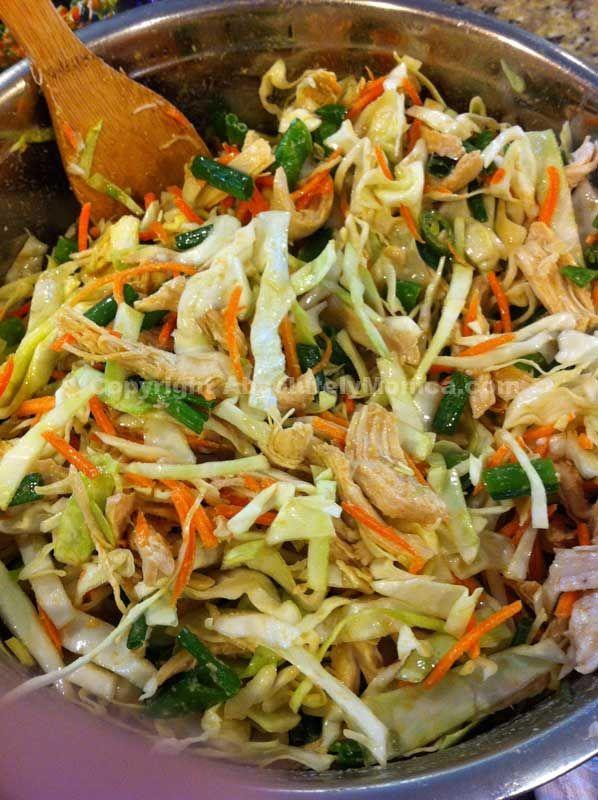 Asian Chicken Salad | Recipes | Pinterest