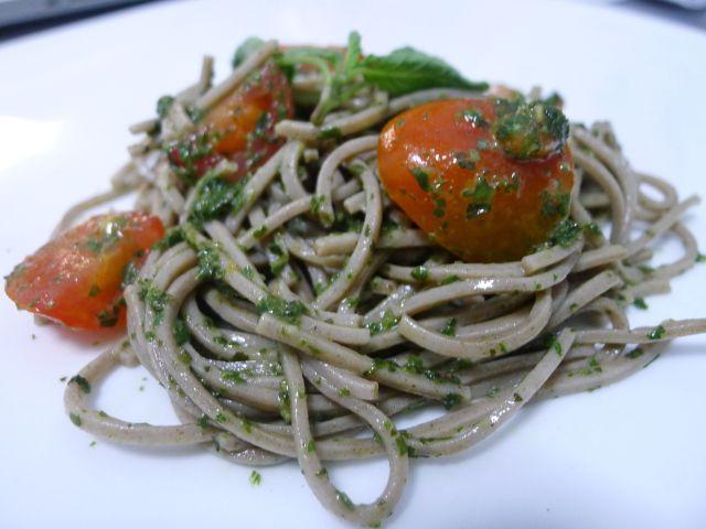 Soba with Thai Basil Pesto | Favorite Recipes | Pinterest