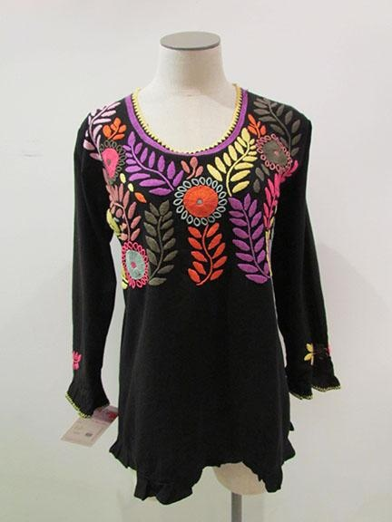 Creative  GYPSY PEASANT MEXICAN EMBROIDERED LACE OFF SHOULDER BLOUSE LXL  EBay