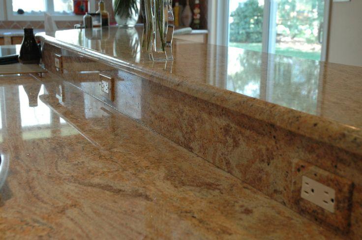 Prefab Granite Countertop : ... Granite Countertops Gold Oak Prefabricated Granite Countertops