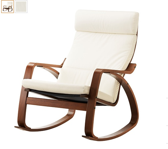 Poang Rocking Chair From Ikea ~ Poang rocking chair Ikea  Rocking Chairs  Pinterest