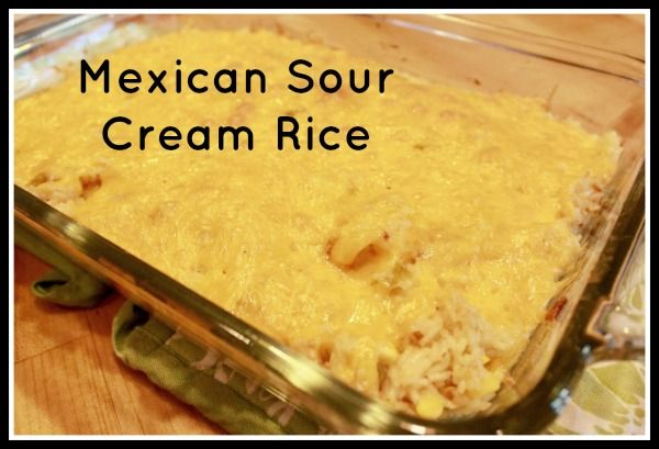 Mexican Sour Cream Rice | Discount Queens