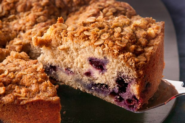 Blueberry-Spice Coffee Cake -- Why choose between coffee cake and ...