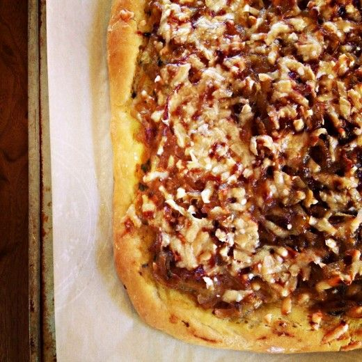 Onion Tart with Mustard & Fennel - idea: oven roast your onions in ...