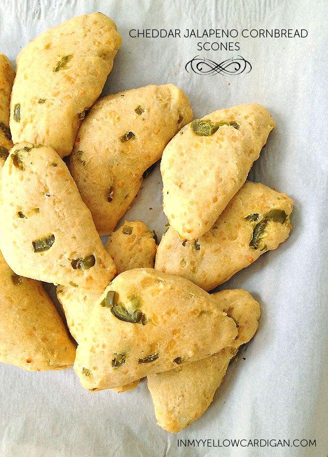 Cheddar Jalapeno Cornbread Scones | Deliciousness | Pinterest