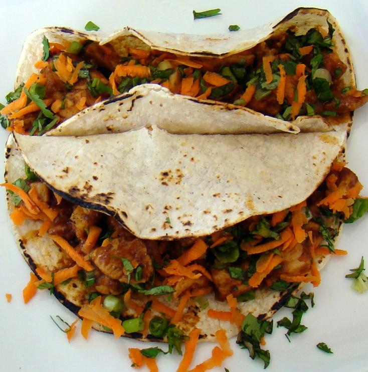 Thai Chicken Tacos - 161 calories | Yummies | Pinterest