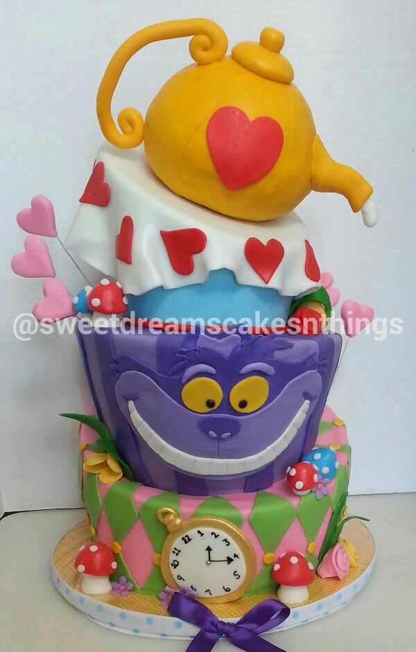 alice in wonderland baby shower cake cakes i 39 ve made pinterest