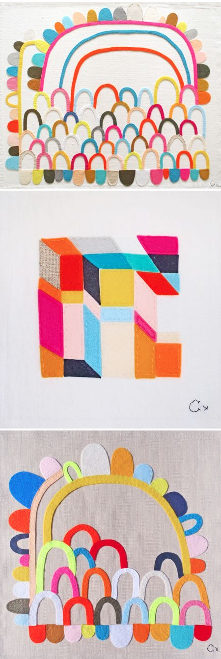 rachel castle - felt & embroidery