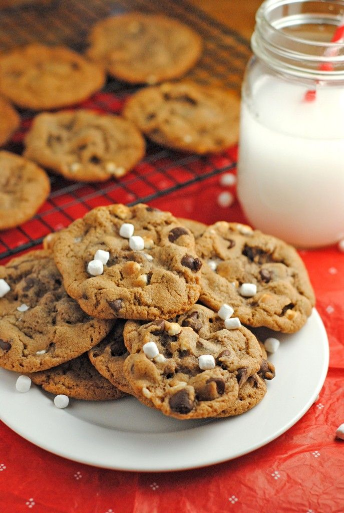 Hot Chocolate Cookies | Food~Cookies | Pinterest