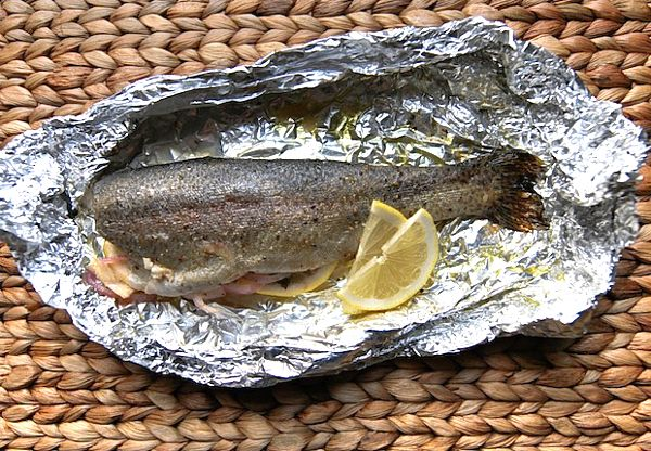 Oven Baked Trout. Yikes. This is my second attempt at trout. Never ...