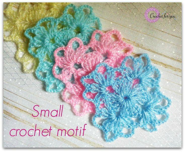 Crochet Motifs : Found on crochetsweets.blogspot.ro
