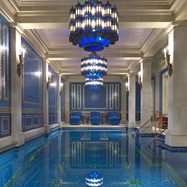 Beautiful Indoor Pool Home Decor Pinterest
