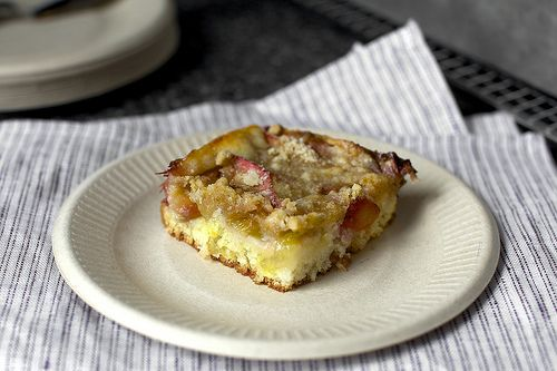 Rhubarb snacking cake.   Good Eats   Pinterest