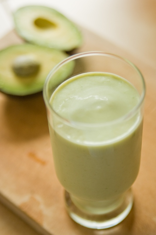 avocado milkshake love | yum | Pinterest