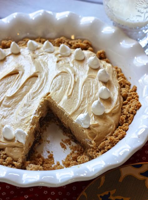 peanut butter pie with nutter butter crust. bypassing the chocolate ...