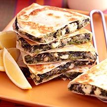 .com: Weight Watchers Recipe - Spinach and Feta Quesadillas ...
