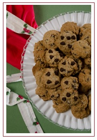 Hillary Clinton's Chocolate Chip Cookies #WhiteHouseChristmas