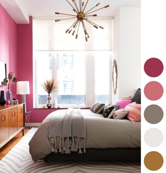 hot pink bedroom teen bedrooms pinterest