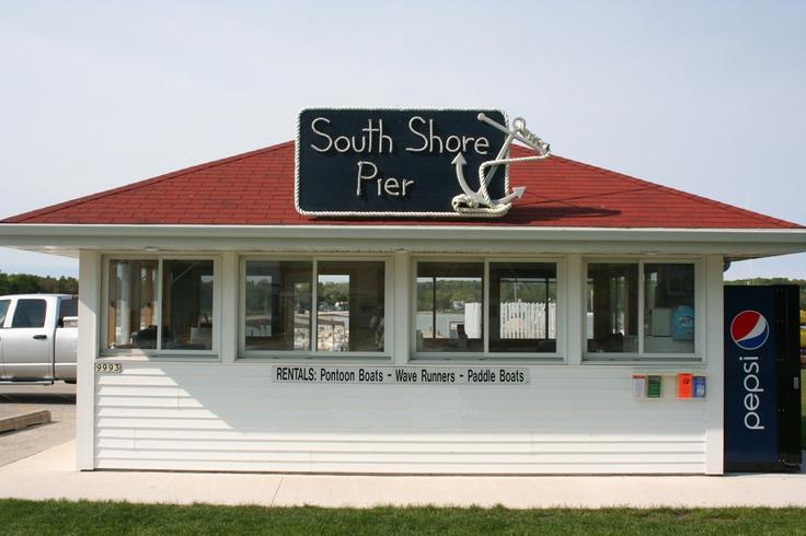 South shore pier boat rental ephraim wi reviews