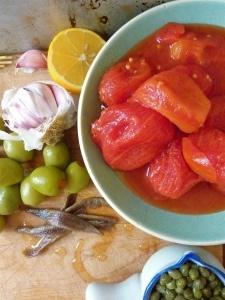 My Cousins Pantry Puttanesca | Food | Pinterest