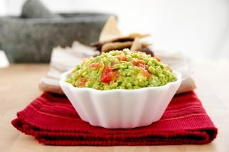 Guacamole with Roasted Garlic & Serrano - Door to Door Organics