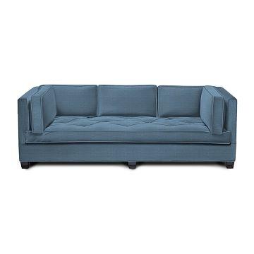 Wilshire's hand-tufted sofa