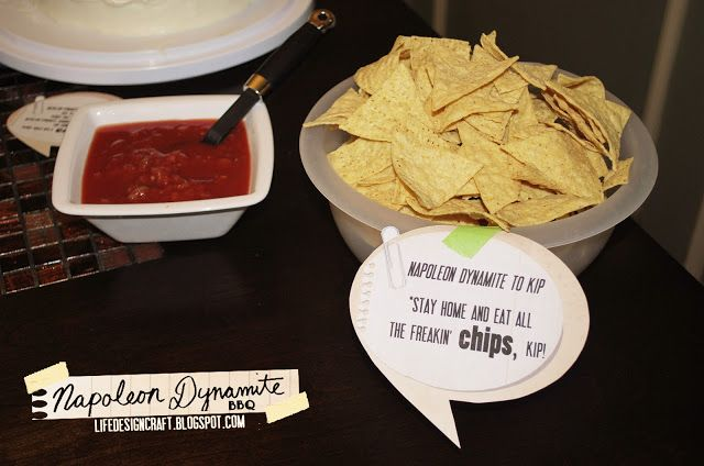Napoleon Dynamite party snacks | Holiday/Event Decor and Fun Ideas ...
