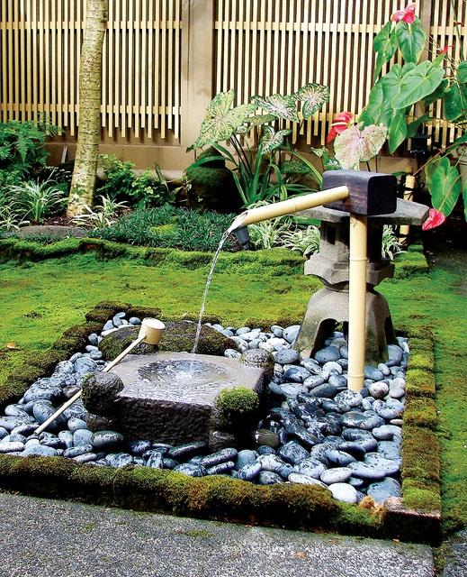 Ideas de diseo de jardines de piedras jardn y terrazas - Como hacer un jardin pequeno ...