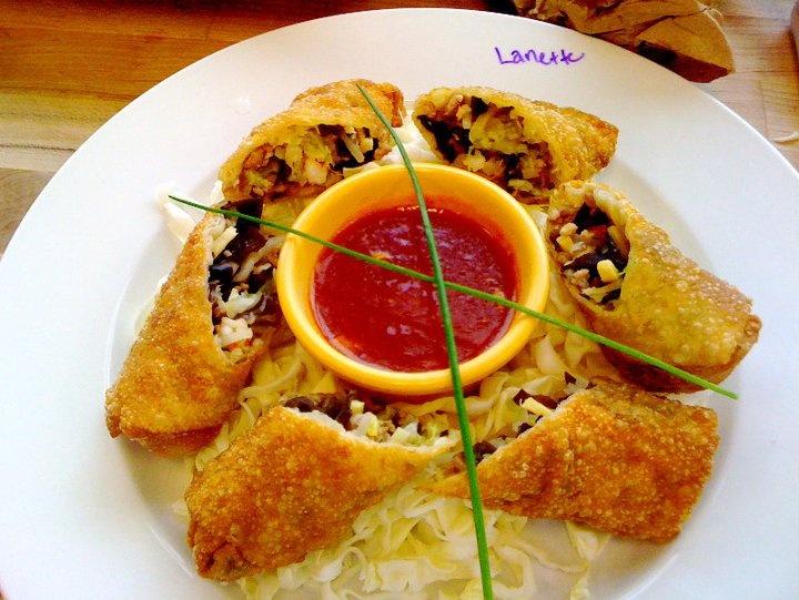 Egg Rolls. | Rockin' Good Food by Little Ol' Me | Pinterest
