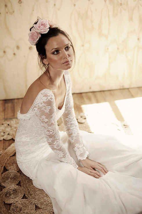 36 of the most effortlessly beautiful boho wedding dresses ever. Black Bedroom Furniture Sets. Home Design Ideas