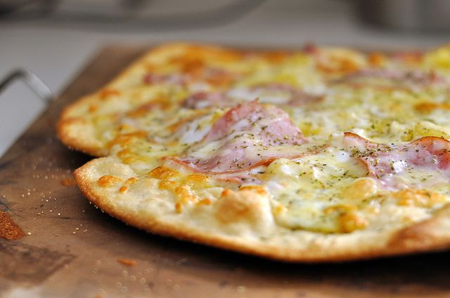 The Perfect Thin and Crispy Pizza Crust | Food | Pinterest