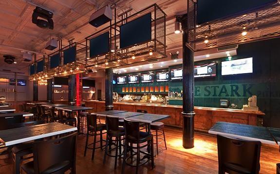 Sports Bar Interior Heritage Inspire Pinterest