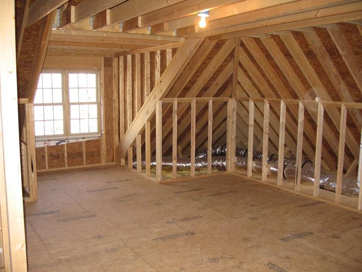 Wall framing attic remodel pinterest for Attic remodel