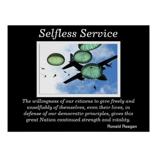 Selfless Service Posters 2