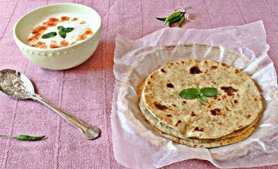 Sourdough Mint Paratha | Dinna.... | Pinterest