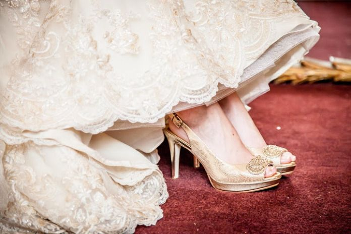 Mckinley thomas wedding castle mcculloch greensboro nc brides shoe s