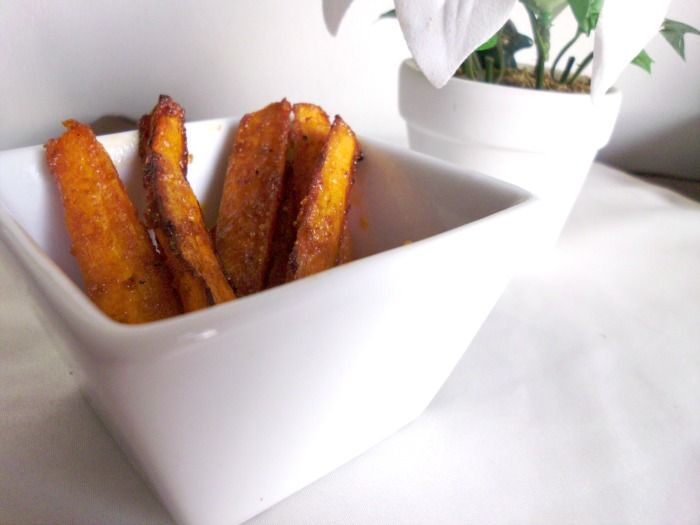 Sweet and spicy baked carrot fries | Untried recipes | Pinterest