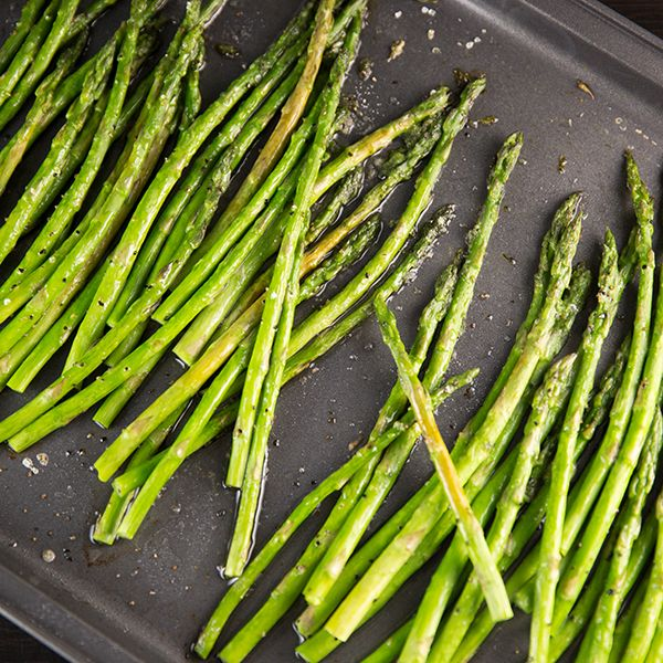 Oven Roasted Asparagus from Center Cut Cook