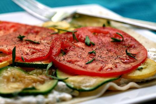 lazy summer lasagna | Recipes | Pinterest