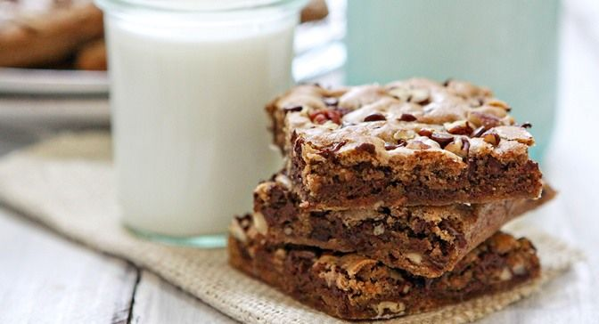 Cinnamon Blondies : These cinnamon-spiced bar cookies make a great ...