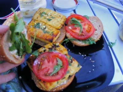 Grilled Lemon-Basil Tofu Burgers | (mostly) veg lunch and dinner | Pi ...