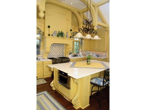 pastel yellow kitchen dream home pinterest